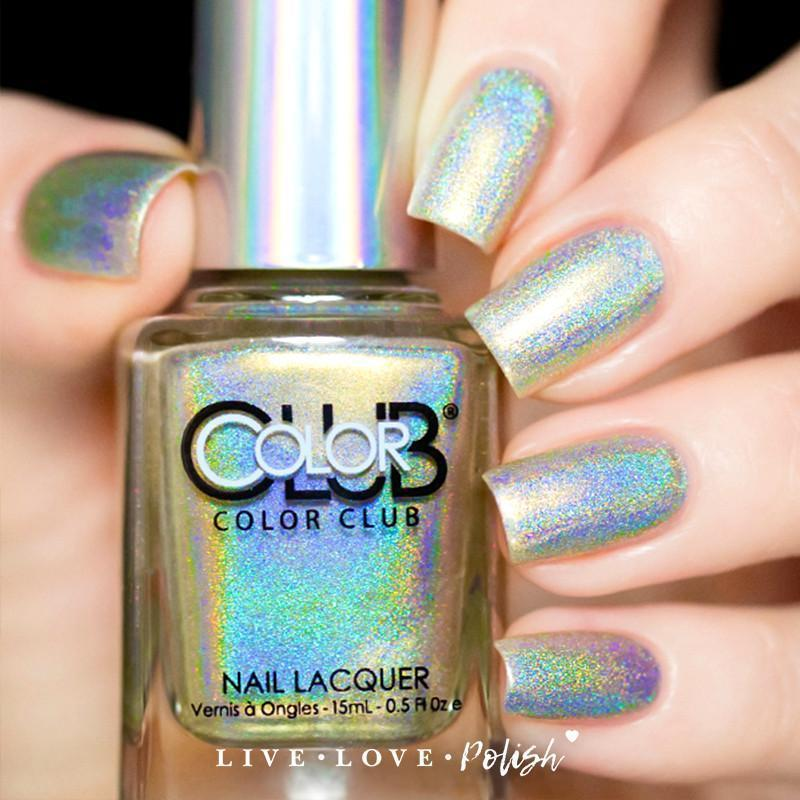 Color Club Fingers Crossed Nail Polish from Live Love Polish