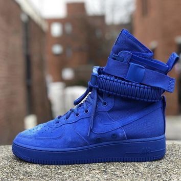 KUYOU NIKE AIR FORCE 1 SF ROYAL BLUE