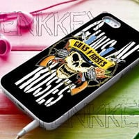 Gun's N Roses for iphone 4/4s case, iphone 5/5s/5c case, samsung s3 case, samsung s4 case cover in tenkkey