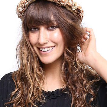 Hemp Flower Headpiece