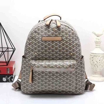 DCCKOB6D Goyard Women Leather Bookbag Shoulder Bag Handbag Backpack