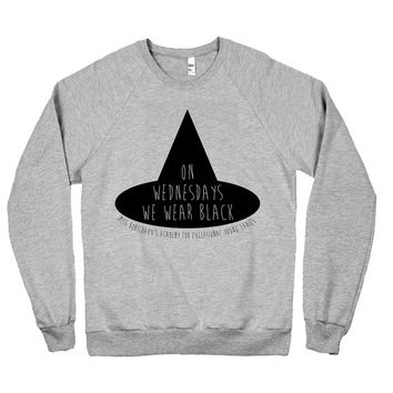 We Wear Black Pullover Sweater American Horror Story Coven - American Apparel Unisex Sizes S, M, L, XL - Limited Edition