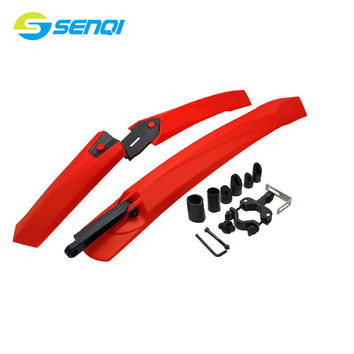 Mountain Bike Rain And Mud Protection Seatpost Fenders 6 Colours Quick Release Bicycle Muds Guards BZP002