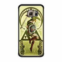 The Legend Of Zelda Elfen Kunst Samsung Galaxy S6 Edge Case