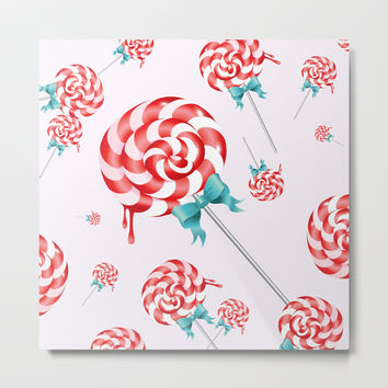Lollies Metal Print by allisone