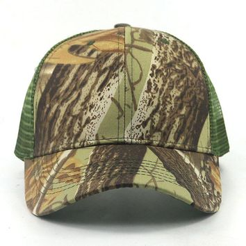Sports Hat Cap trendy  women men Camouflage snapback cap blank flat camo adjustable cotton baseball cap printing mens cap and hat s KO_16_1
