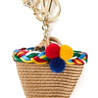 Dolce & Gabbana Shopping Basket Key Ring - Julian Fashion - Farfetch.com