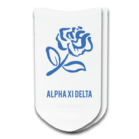 Alpha Xi Delta - Sorority Icon No-Show Socks