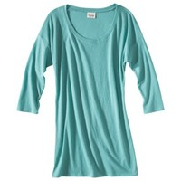 Mossimo Supply Co. Junior's 3/4 Sleeve Tunic - Assorted Colors