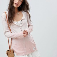 Free People Cozy Up henley top at asos.com