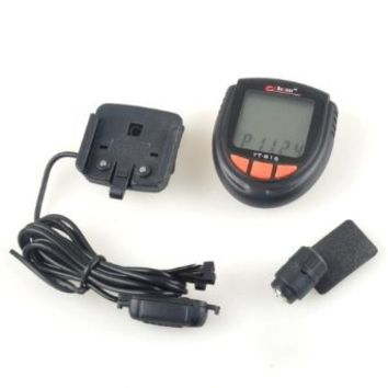 BestDealUSA Waterproof Bicycle LCD Speedometer Calorie Calculator