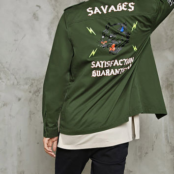 Savages Graphic Utility Jacket