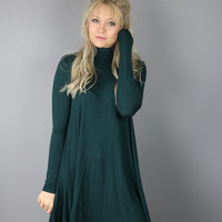 Jade Turtleneck Dress
