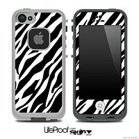 Vector Fancy Zebra Skin for the iPhone 5 or 4/4s LifeProof Case