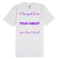 Tyler Oakley Fan-Unisex White T-Shirt