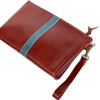 clutch leather handmade leather wallets leather  mens clutch womens  genuine leather clutch