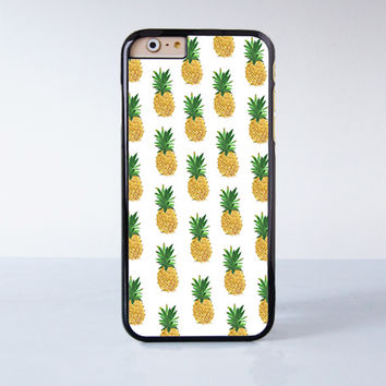 Pineapple Collection  Plastic Case Cover for Apple iPhone 6 6 Plus 4 4s 5 5s 5c