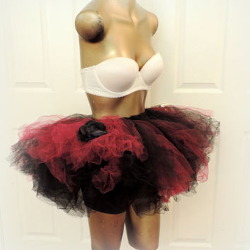Adult tutu, rave raver tutu, adult tutu dress,Boudoir Burlesque, ECD outfit, photo prop tutu, gogo dancer, goth gothic tutu