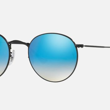 Check out Ray-Ban RB3447 50 ROUND METAL sunglasses from Sunglass Hut http://www.sunglasshut.com/us/8053672561531