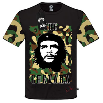 CAMOUFLAGE CHE GUEVARA T-SHIRT for KIDS