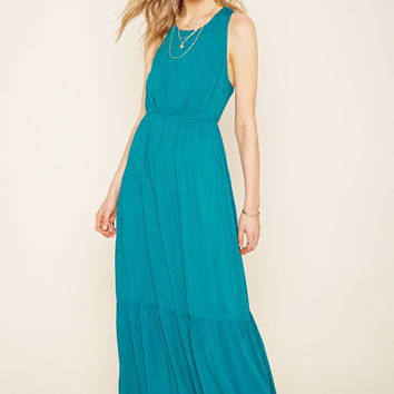 Contemporary Woven Maxi Dress