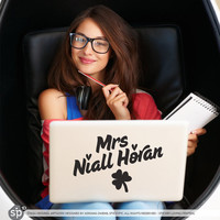 Mrs Niall Horan - One Direction - (Laptop 1D Sticker Decal PC Apple Macbook iPad Tablet Device Geekery)