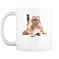 Taylor White Cat Swift Cat Funny Gift For Fan Mug
