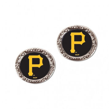 Pittsburgh Pirates Earrings Post Style