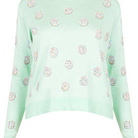 Knitted Jazzie Embellished Top - New In This Week - New In - Topshop USA