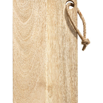 H&M - Wooden Cutting Board - Natural