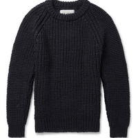 Our Legacy - Chunky-Knit Wool Sweater   MR PORTER
