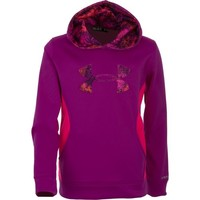 Under Armour® Girls' Armour® Fleece Storm Big Logo Hoodie