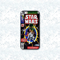 Star Wars, Classic Comic, Custom Phone Case for iPhone 4/4s, 5/5s, 6/6s, 6/6s+, iPod Touch 5