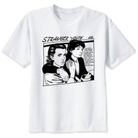 "Stranger Things ""Comic Couple"" T-Shirt"