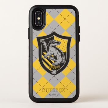 Harry Potter | Hufflepuff House Pride Crest OtterBox Symmetry iPhone X Case
