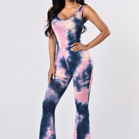 She's A Dime Set - Pink/Navy