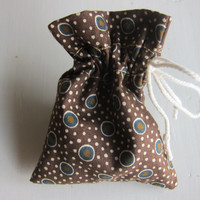 "30 pcs - 4 x 3""  Party favor bags, Candy Wrappers, rustic cotton gift bags, jewellery pouches fabric favor pouches for treats gifts seeds"