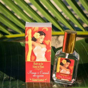 Island Essence Cologne Mist, Mango Coconut, 1.7oz