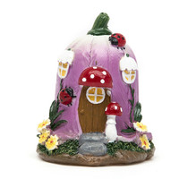 Big Mushroom House Fairy Garden Gnome Moss Terrarium Decor for Resin Crafts Bonsai Bottle Garden