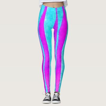Blue/Purple Women's Leggings