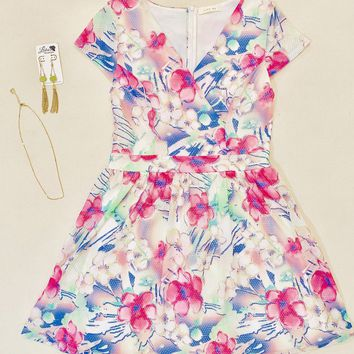 Floral Dress Set - Medium