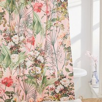 83 Oranges For Deny Botanic Shower Curtain | Urban Outfitters