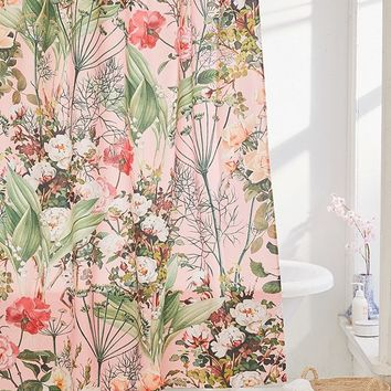 83 Oranges For Deny Botanic Shower Curtain   Urban Outfitters