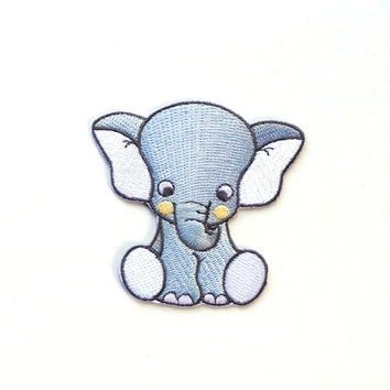 Elephant Patch/Iron on Patch