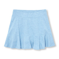 Girls Matchables Knit Ruffle Skort | The Children's Place