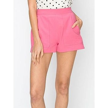 Hands Down Shorts | Pink