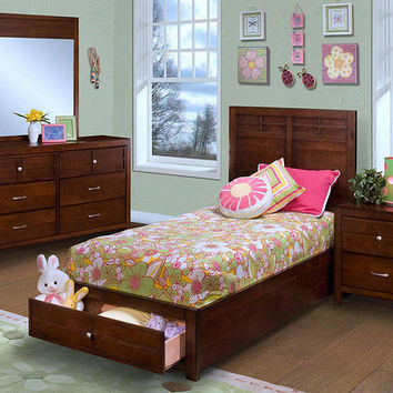 Langdon Twin Size Storage Bed