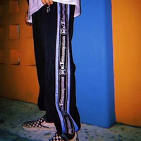 Champion 2018 spring and summer string logo men and women wild sweatpants F-XMCP-YC