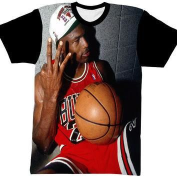 JORDAN SHIRT BLACK SLEEVE