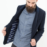 Tissot Blazer in Navy